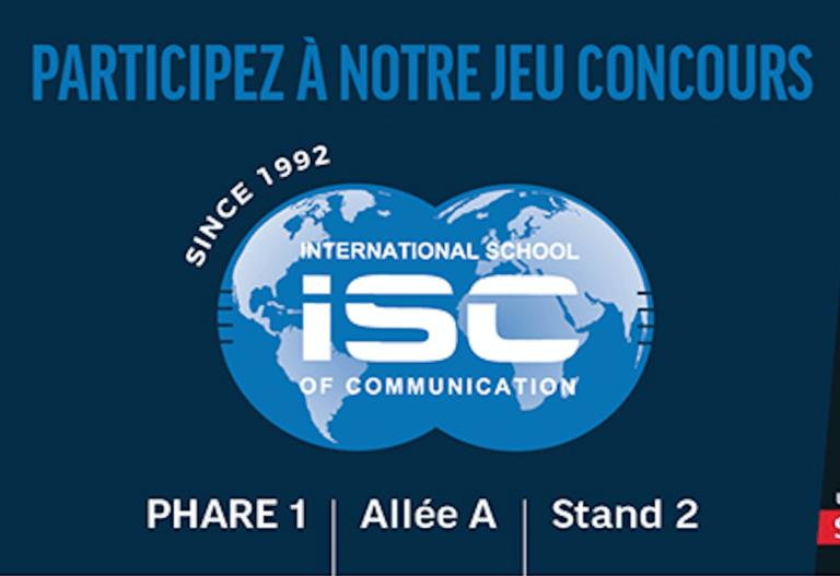 Inscrivez-vous au jeu concours ISC