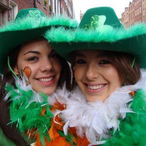 Fêtes irlandaise-tradition irlandaise-apprendre l'anglais en irlande-immersion en irlande-fêter la St PAtrick en jouant