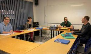 cours de groupe en langues - cours de groupe en présentiel