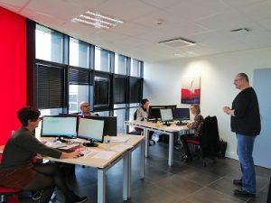 Cours en groupe en entreprise-cours d'informatique-cours de bureautique